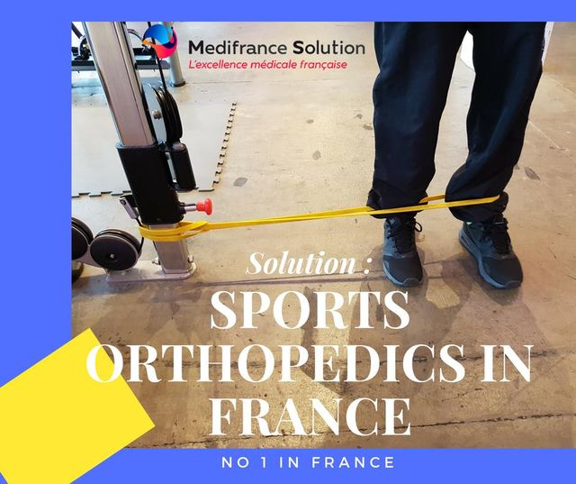 Sports orthopedics in France