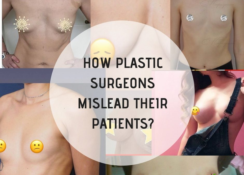 How plastic surgeons mislead their patients?